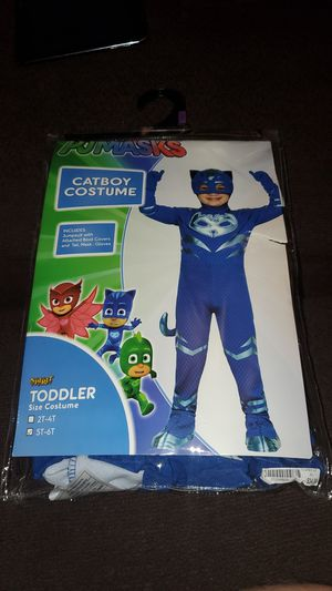Pj masks Halloween costume size 6T for Sale in Arlington, TX