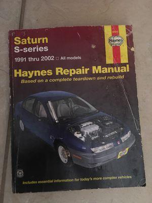 Saturn repair manual for free for Sale in Orlando, FL
