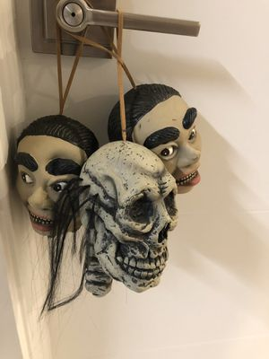 SMALL - Halloween Hanging Heads for Sale in West Palm Beach, FL