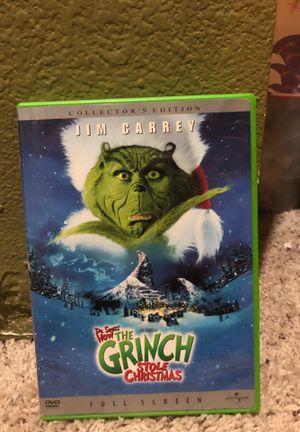 How the Grinch Stole Christmas DVD and Collectors edition cade for Sale in Sumner, WA