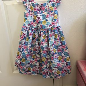 Floral Hello Kitty Girls Dress 4t for Sale in Montclair, CA