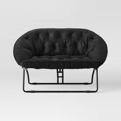 Black Loveseat Couch/Chair for Sale in East Point,  GA