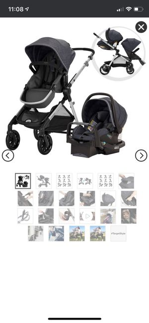 Double stroller and car seat for your infant and toddler for Sale in Dunn Loring, VA