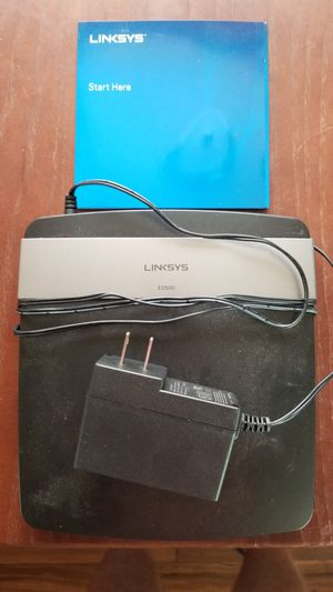 Linksys e2500 router for Sale in Putney, GA