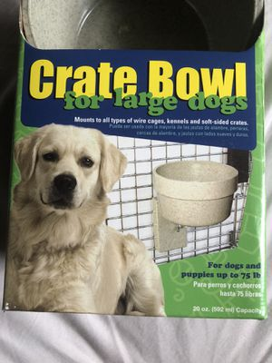 Crate bowl for animal crate for Sale in McAllen, TX