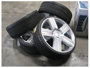 """🚗 28"""" inch Texas Style Chevy 1500 Silverado WHEEL & TIRE PACKAGE🚛 for Sale in Irving, TX"""