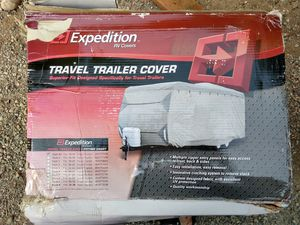 Expedition RV cover, 14' - 16' Camper Trailer Cover for Sale in Mukilteo, WA