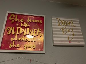 Girls room decor for Sale in Bakersfield, CA