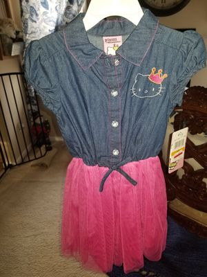 New Princess Hello Kitty Tutu Dress Size 3T for Sale in Flint, MI