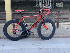 Fuji road bike full fiber carbon 54cm perfect conditions for Sale in Redwood City, CA