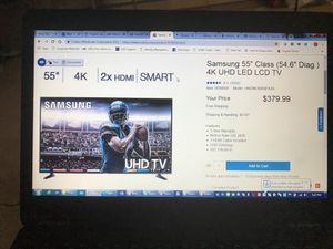 """Samsung 55"""" 4K UHD LED TV UN55NU6950FXZA model for Sale in Edison, NJ"""