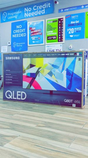 Samsung 65 inches - QLED - Q80T Series - 2160p - Smart - 4K UHD TV with HDR - Brand New in Box! One Year Warranty! for Sale in Arlington, TX