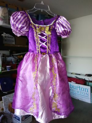 Disney Rapunzel dress 5-7X for Sale in Columbus, OH