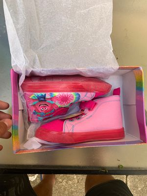 Trolls kids shoes for Sale in Queens, NY