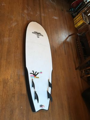 Surfboard 5' fish by Y boards quad fin(price reduced!) for Sale in Portland, OR