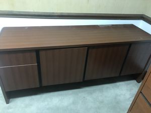 Office credenza and file cabinet for Sale in Charlotte, NC