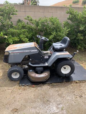 Craftsman Riding Lawn Mower for Sale in Norco, CA