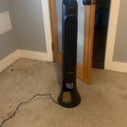 Honeywell QuietSet Electric Tower Stand Fan for Sale in Washington,  DC