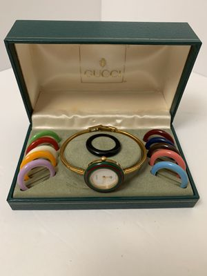 Authentic vintage Gucci bezel watch for Sale in Long Beach, CA