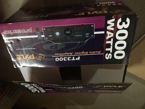 Pyle Amplifier 3000 Watts for Sale in Boston, MA