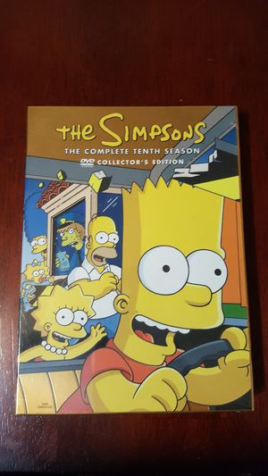 Simpson's 10th Season DVD. Collector's edition for Sale in Irwindale, CA
