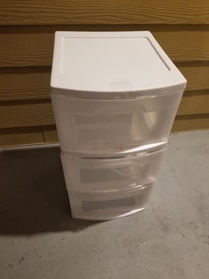 Plastic drawers for Sale in Riverview, FL
