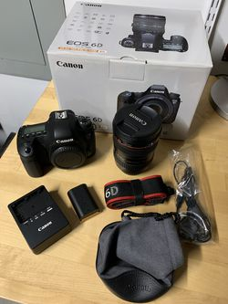Canon Full Frame EOS 6D with EF 24-105 f/4 L IS USM for Sale in Monroe,  WA