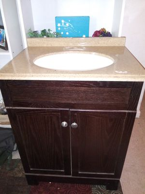 Vanity never installed just used as a microwave stand for Sale in Fresno, CA
