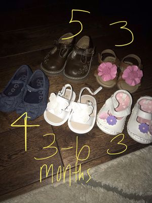 Baby shoes and diaper bag for Sale in Nolensville, TN