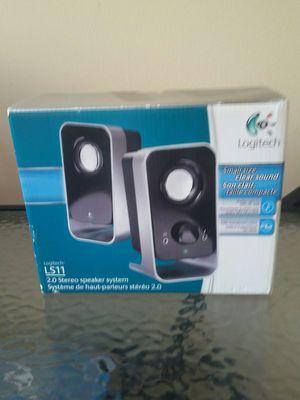Logitech ls 11 2.0 stereo speaker system. for Sale in Lake Shore, MD