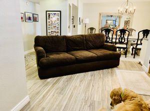 Mor furniture super comfy sleeper sofa down filled for Sale in Tempe, AZ