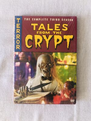 Tales from the Crypt Season 3 Terror Tales 2 DVDs Movie Set for Sale in El Cajon, CA