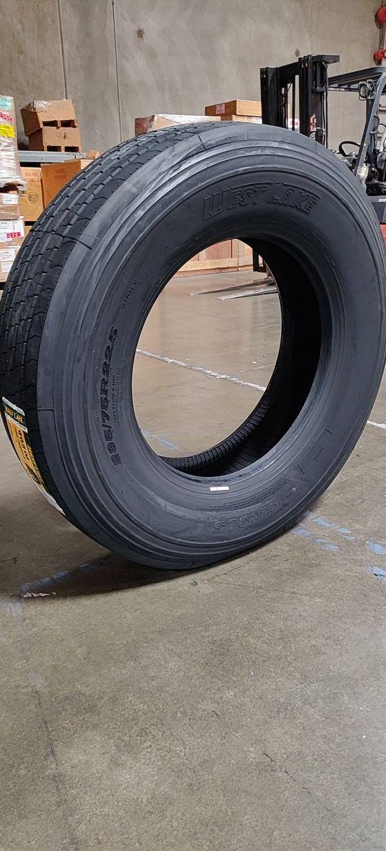 Commercial truck tire Westlake trailer