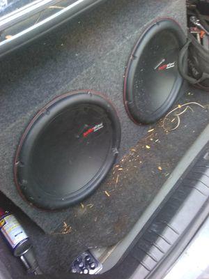 Audiopipe 15s subwoofers for Sale in Detroit, MI