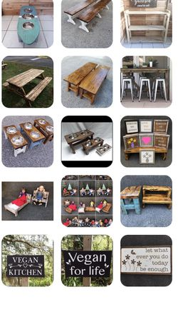 Many Items Available Bench Pet Feeder Sign Table Picnic Table Blanket Ladder Doll Arbor for Sale in Orlando,  FL