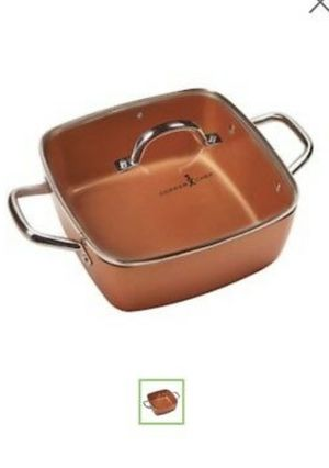 Copper Chef XL 11 inch Casserole pan. Extra Deep. for Sale in Downers Grove, IL