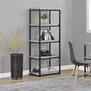 Bookcase Gray $83 for Sale in Houston, TX