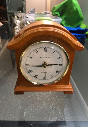 Wooden Mantel Clock for Sale in Allentown, PA