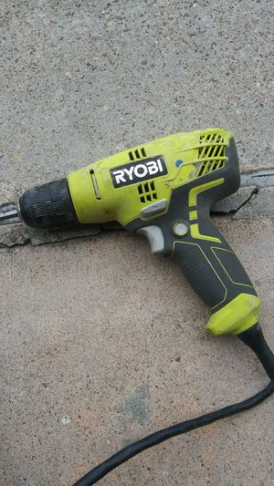 Ryobi power drill..with cord for Sale in Houston, TX