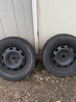 15in 5x100 Steelies Pair for Sale in Tacoma,  WA