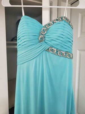 Teal Prom Dress Size 7 for Sale in Houston, TX