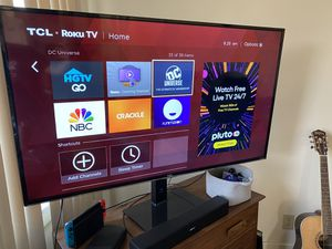 TCL 4K Roku TV for Sale in Long Beach, CA