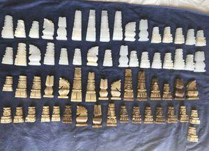 Vintage stone/marble chess set for Sale in Arlington, VA