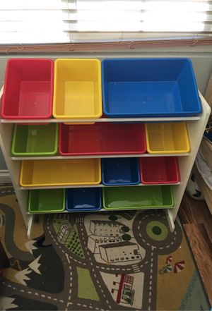 Kids toy storage unit excellent condition for Sale in Santee, CA