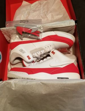 New Jordan 3 Tinker swoosh pack size 11.5 for Sale in Philadelphia, PA