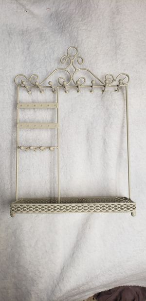 Cream Color Jewelry Holder for Sale in Valley Stream, NY