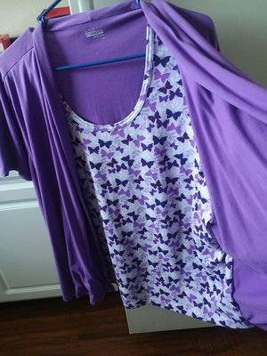 LADY'S TOPS W/ATTACH CARDIGAN 2XL-3XL ($15 each) for Sale in TEMPLE TERR, FL