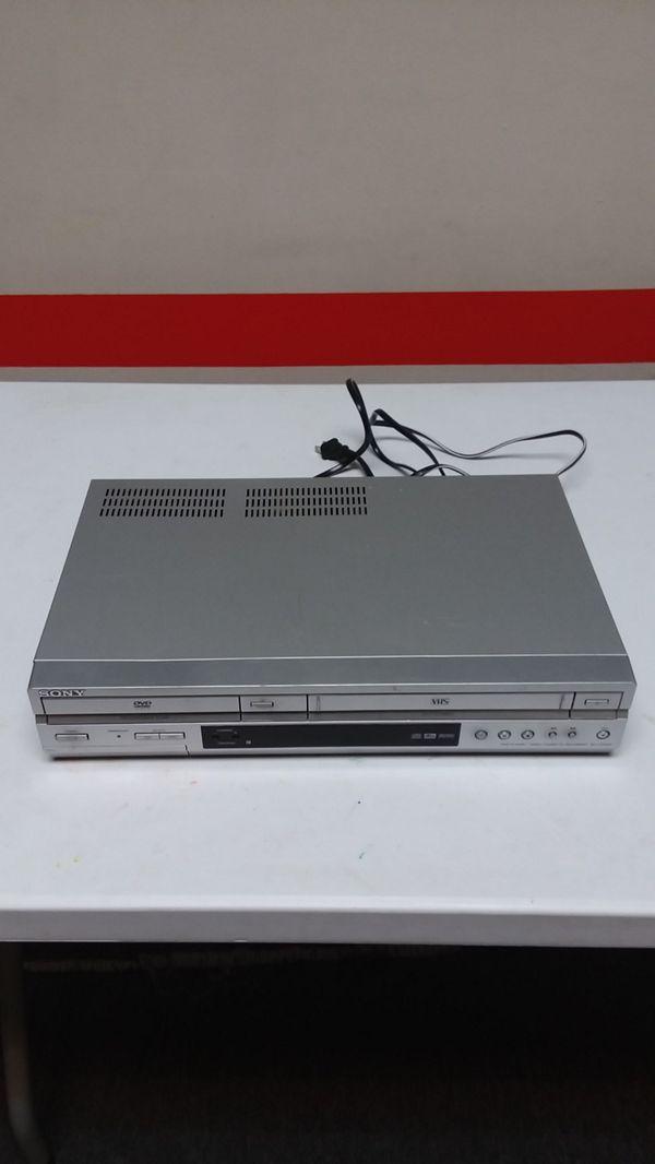 Sony DVD/VHS Player