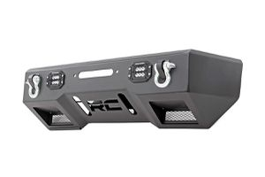 Jeep Front Stubby LED Winch Bumper | Black Series (07-18 Wrangler JK) for Sale in Downey, CA