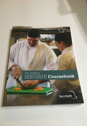 ServSafe Coursebook 7th Edition for Sale in Stockton, CA